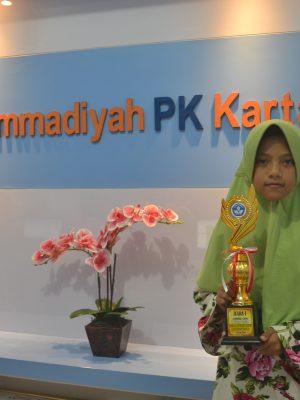 Juara 1 Lomba OSN Matematika Tingkat Kecamatan Kartasura 2018