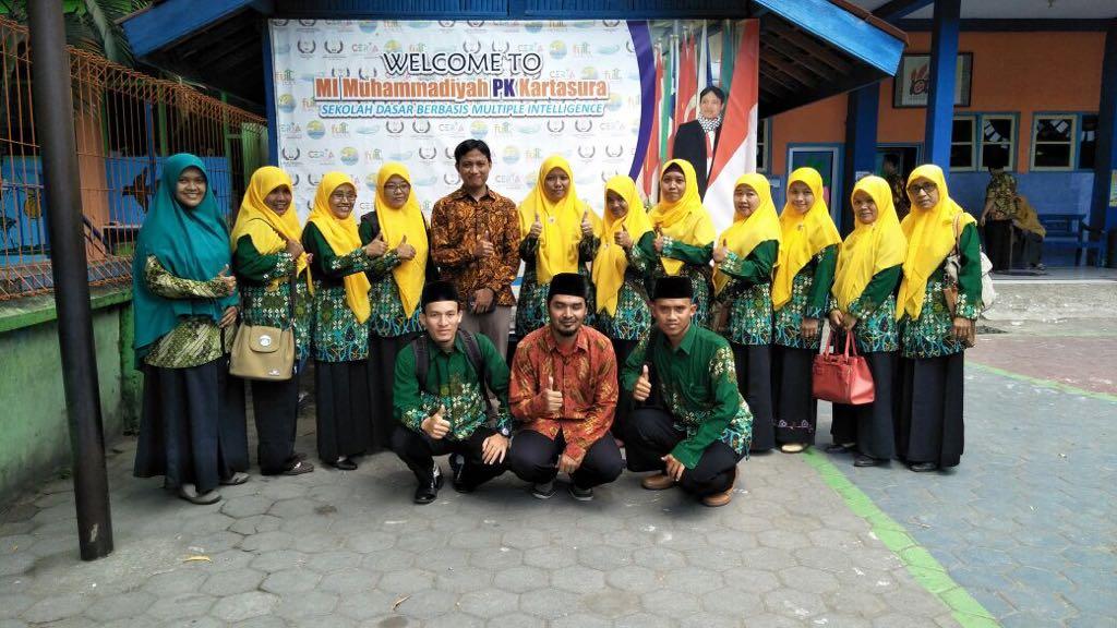 MIM Karanggayam dan MIM Pakel Simo Boyolali Studi Banding di MIM PK Kartasura