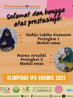 Olimpiade IPA Cosmic 2021