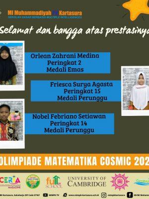 Olimpiade Matematika Cosmic 2021